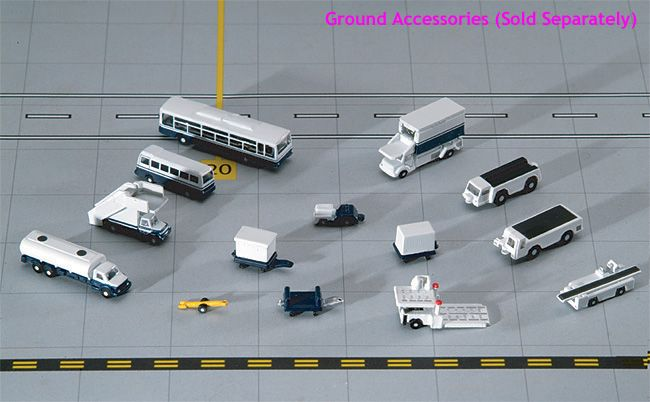 14-Piece Ground Accessory Set (1:200)