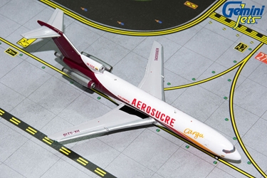 Aerosucre B727-200F HK-5216 (1:400) by GeminiJets 400 Diecast Airliners Model number GJKRE1194