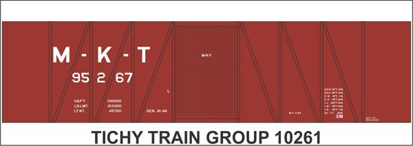 Ho  Mkt 40 Ss Boxcar Decal